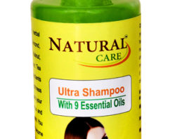 Natural Care Ultra Shampoo 200 ml – Pamper Your Hair With The Goodness of 9 Essential Oils To Make Your Tresses Long, Strong and Lustrous